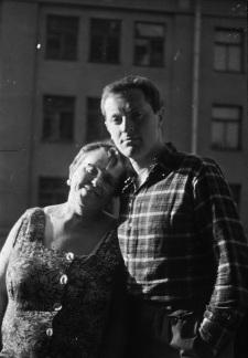 Иосиф с мамой. Фото: https://vk.com/j.brodsky